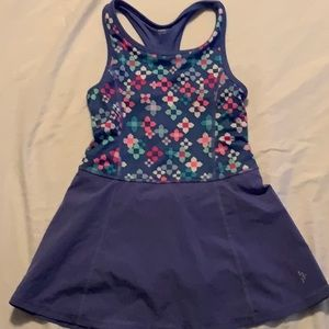 Gymboree Activewear Dress qwkdry w/ built in short